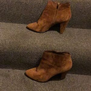 Carmel colored ankle Boots